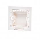 Квадратный подрозетник для выключателя света (для кирпичной стены)